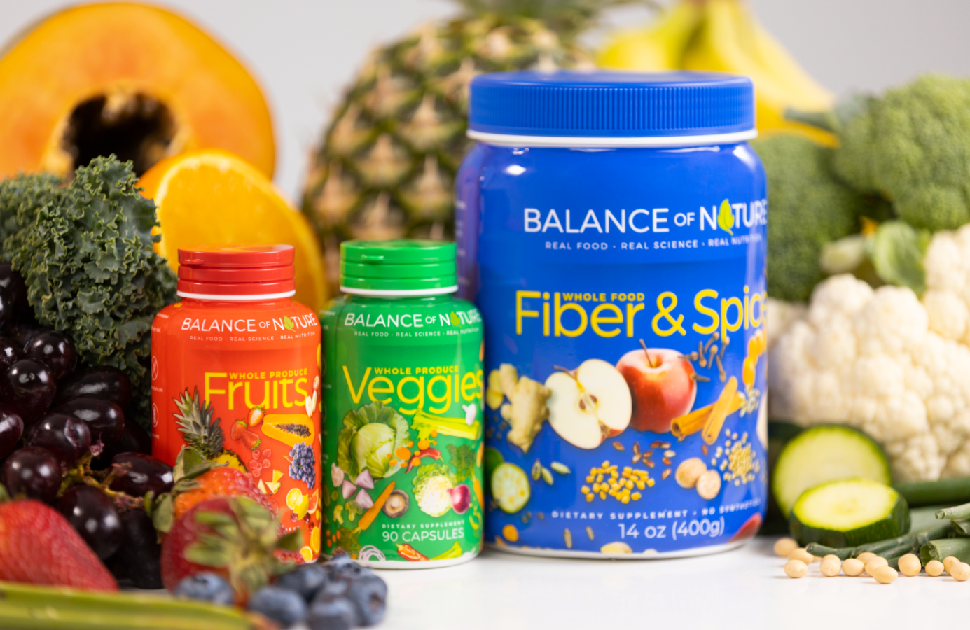 Balance of Nature: Our Products